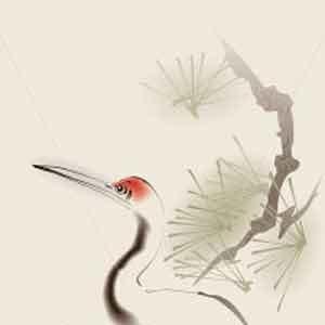 Żuraw-malarstwo